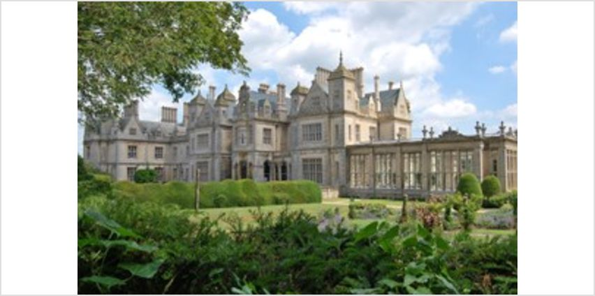 One Night Break with Afternoon Tea for Two at Stoke Rochford Hall from Buy A Gift