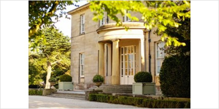 Overnight Luxury Break with Dinner for Two at Saltmarshe Hall from Buy A Gift