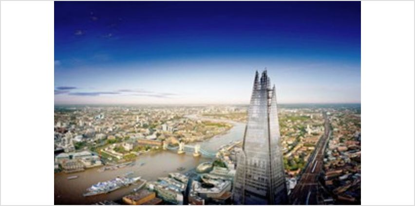 The View from The Shard for Two from Buy A Gift