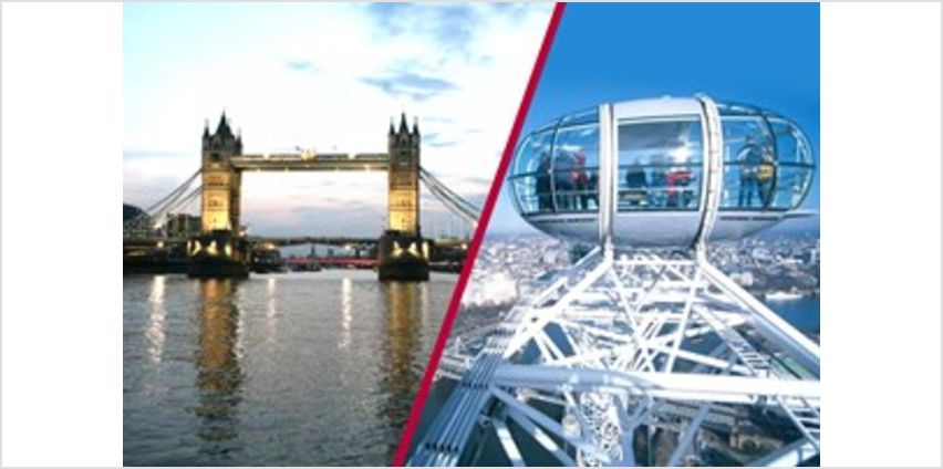 Coca-Cola London Eye Tickets and River Cruise for Two - Special Offer from Buy A Gift