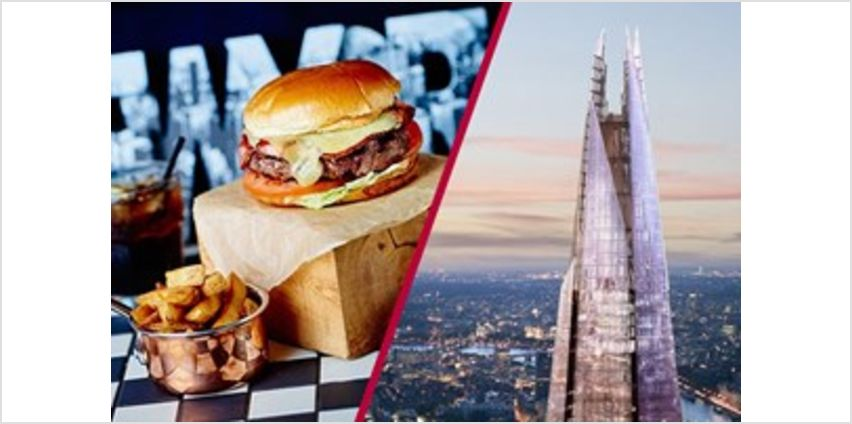 View From The Shard and Dinner with Fizz at Marco Pierre White from Buy A Gift