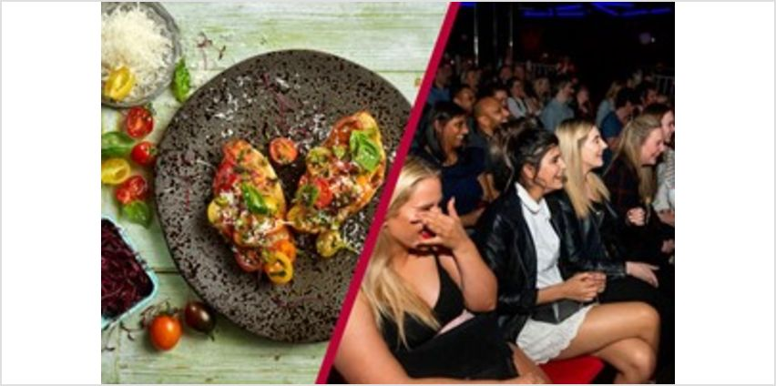 Comedy Tickets and Three Course Meal and Glass of Wine for Two at Zizzi from Buy A Gift