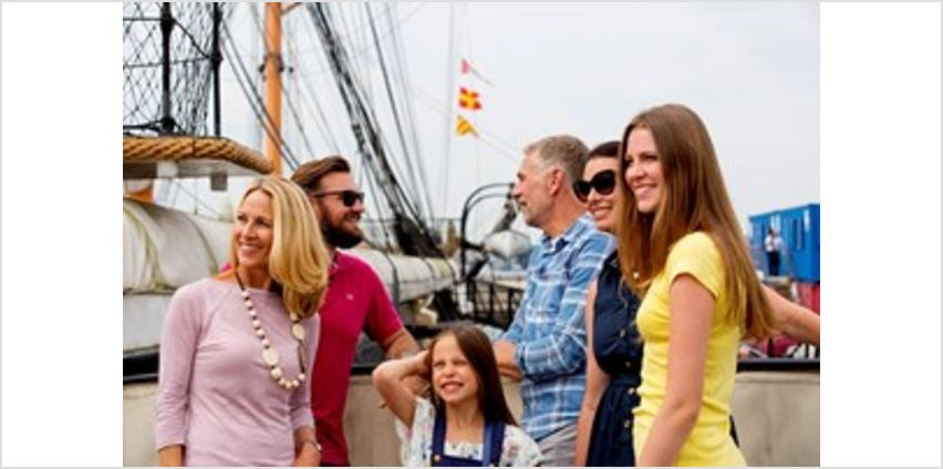 Family Annual Pass to Portsmouth Historic Dockyard from Buy A Gift