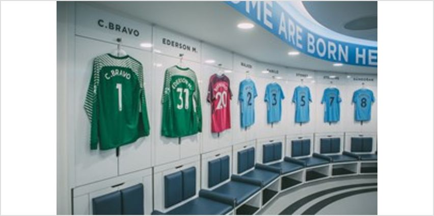 Manchester City Stadium Tour with Souvenir Photo for Two Adults - Special Offer from Buy A Gift