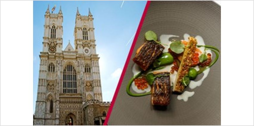Westminster Abbey Visit and 3 Courses with Cocktails at Roux at Parliament Square from Buy A Gift