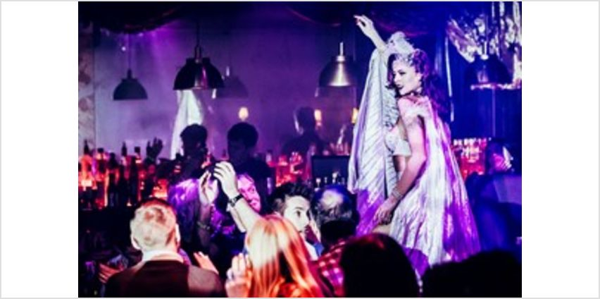 Cabaret Show with a Three Course Meal and a Drink for Two at FEST from Buy A Gift
