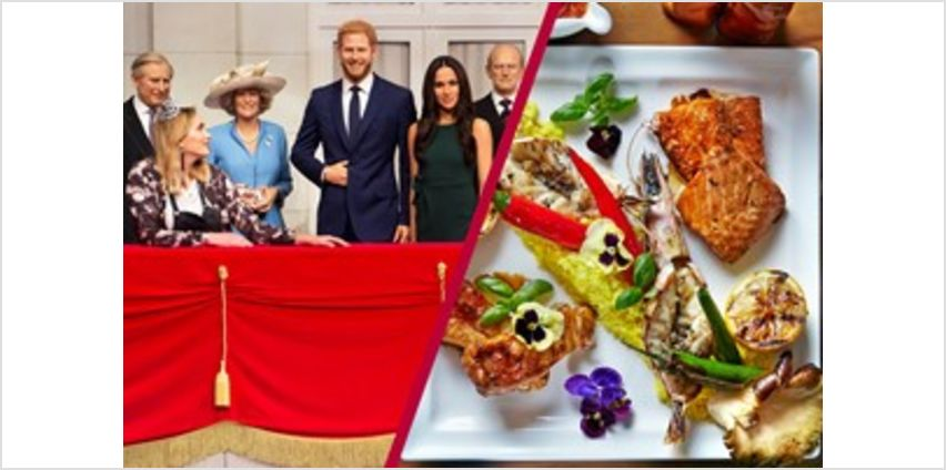 Madame Tussauds Entry and Three Course Dinner at Hilton Park Lane's Trader Vic's from Buy A Gift