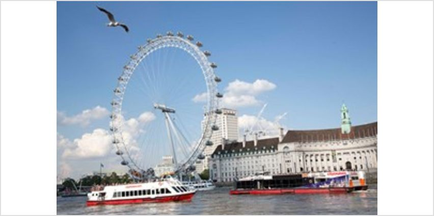 Thames Lunch Cruise for Two from Buy A Gift