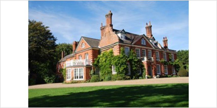 One Night Break with Dinner and Champagne for Two at The Norfolk Mead Hotel from Buy A Gift