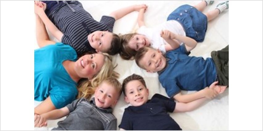 Family Photoshoot with 2 Complimentary Prints Special Offer from Buy A Gift