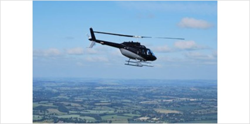 15 mile Helicopter Pleasure Flight from Buy A Gift