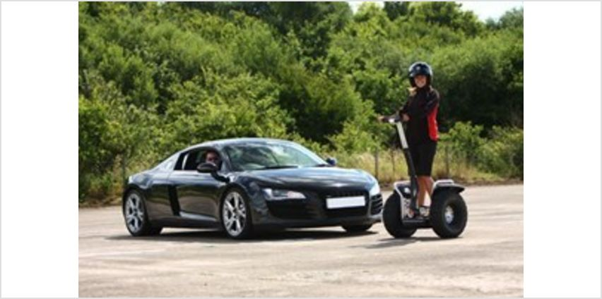 Two Supercar Drive and Off Road Segway Day from Buy A Gift