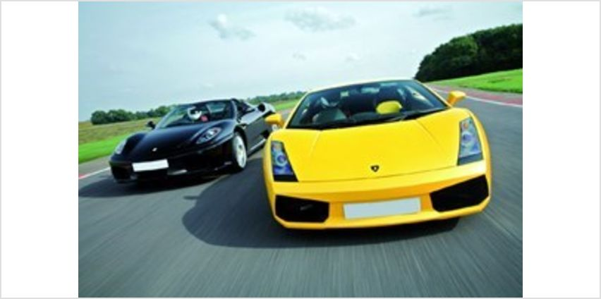 Ferrari and Lamborghini Driving Blast from Buy A Gift