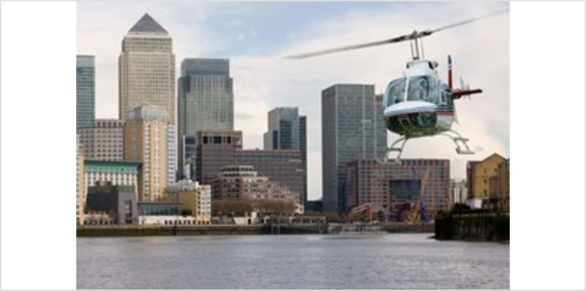Helicopter Tour Over London for Two from Buy A Gift