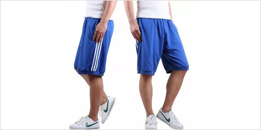 5-Pack Men's Athletic Shorts - 4 Sizes from GoGroopie
