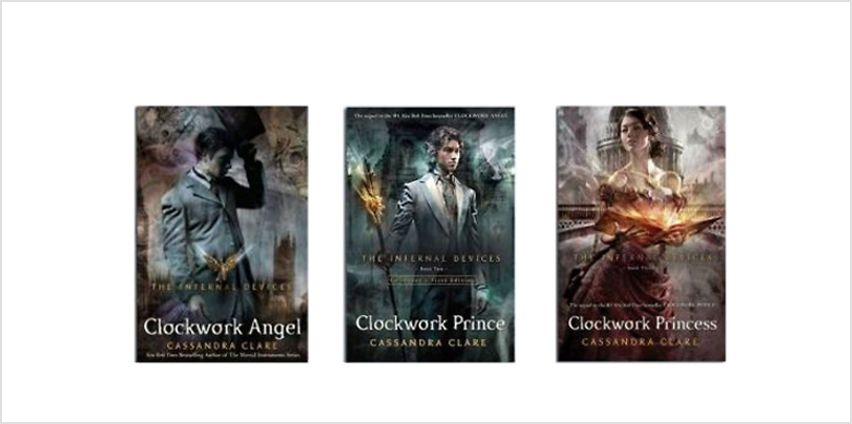 The Infernal Devices 3 Book Set from GoGroopie