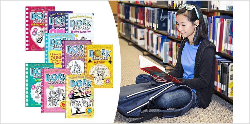 Dork Diaries Rachel Renee Russell 9 Book Collection from GoGroopie