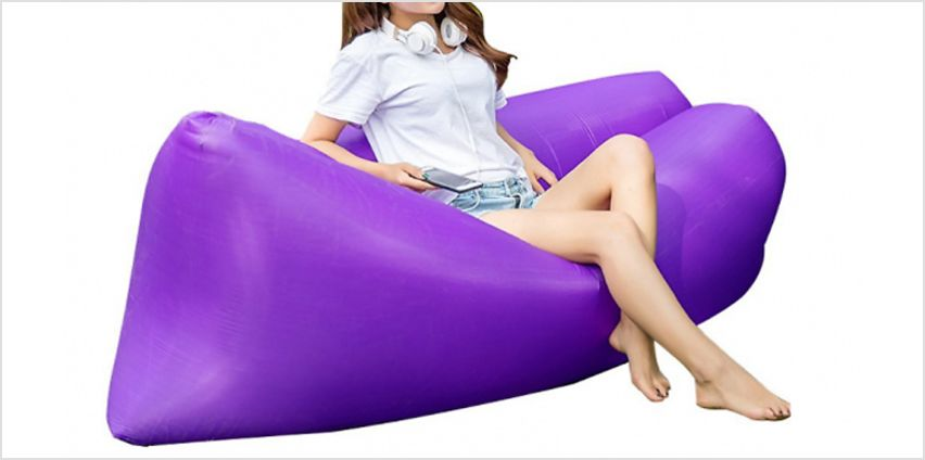 Inflatable Waterproof Sofa Bed - 4 Colours from GoGroopie