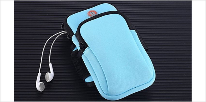 Sports Mobile Arm Pouch - 5 Colours from GoGroopie