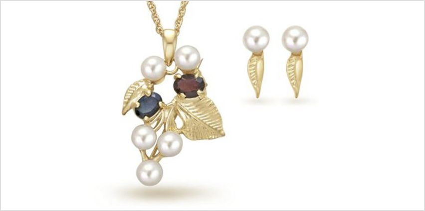 Earrings and Necklace Gift Set from GoGroopie