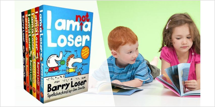 'Barry Loser' 6-Book Collection from GoGroopie