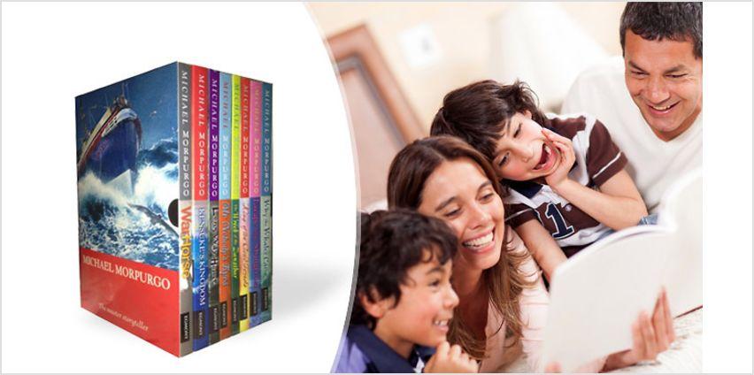 Michael Morpurgo 8-Book Children's Collection from GoGroopie