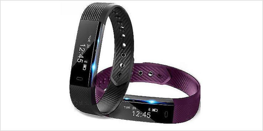 VeryFit 14-in-1 Smart Fitness Tracker Bracelet - 5 Colours from GoGroopie