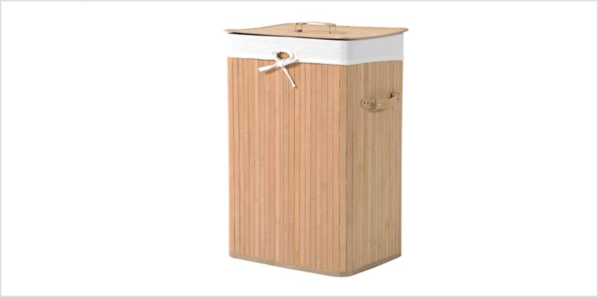 Bamboo Laundry Basket from GoGroopie