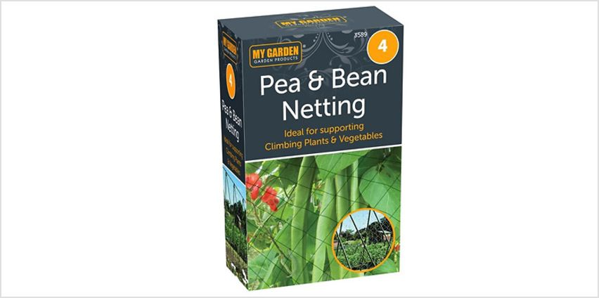 4m Pea and Bean Netting from GoGroopie