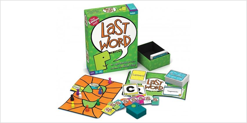 Last Word The Board Game from GoGroopie