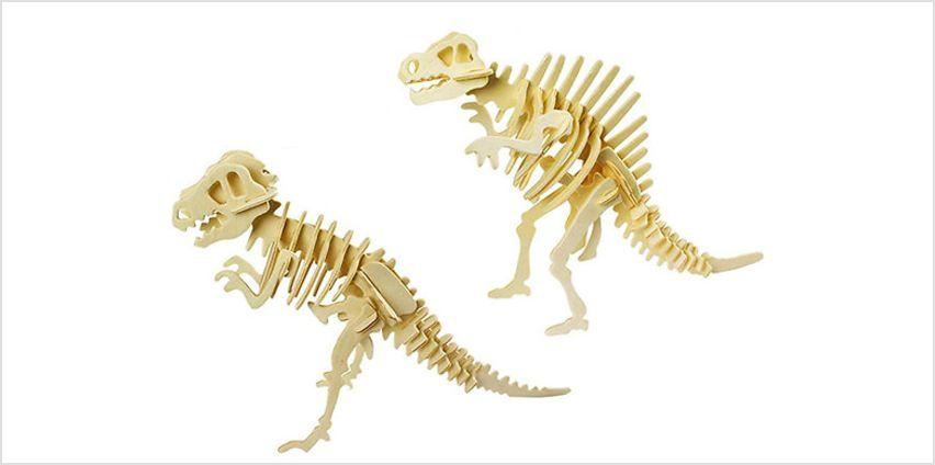 3D Dinosaur Puzzle - 6 Designs! from GoGroopie