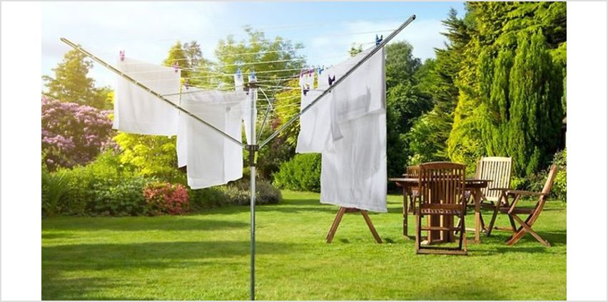 30m or 50m Rotary Clothes Dryer from GoGroopie