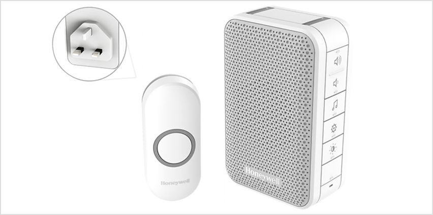 Honeywell Wireless Plug-In Doorbell with LED from GoGroopie