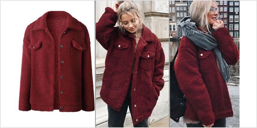 Women's Fleece Teddy Jacket - 3 Colours from GoGroopie