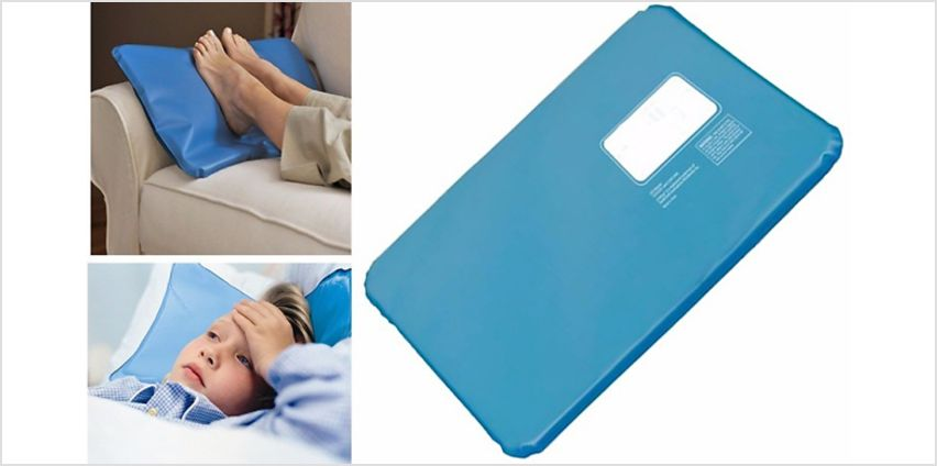 CoolCushion Ice-Pad Pillow - 2-Pack from GoGroopie
