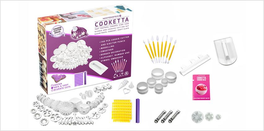 155-Piece Ultimate Baking Accessories Set from GoGroopie