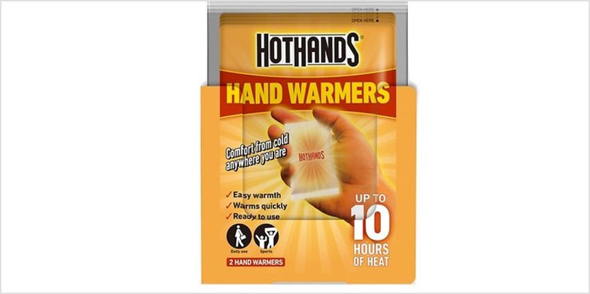 Hot Hand Warmers - Pack of 2, 4 or 10 from GoGroopie