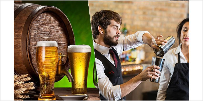 Beer Brewing and Bartending Courses from GoGroopie