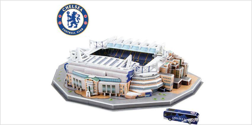 3D Football Stadium Jigsaw Puzzle - 6 Models! from GoGroopie