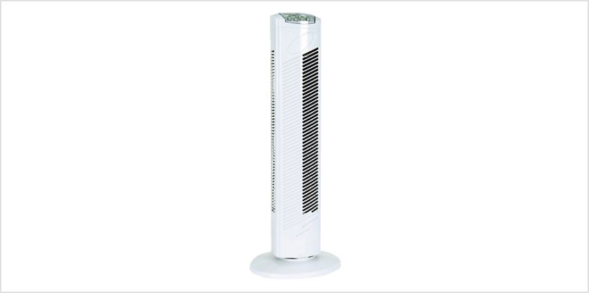 3-Speed Oscillating Tower Fan - 29 inch from GoGroopie