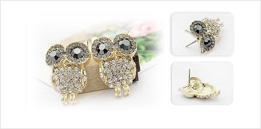 Cute Owl Earrings from GoGroopie