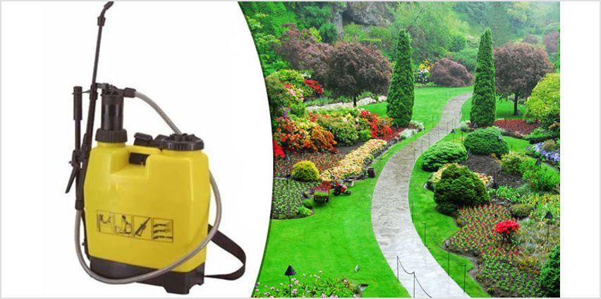 Garden Backpack Sprayer - 3 Capacities from GoGroopie