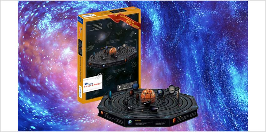 Adventures Of The Solar System 3D Puzzle from GoGroopie