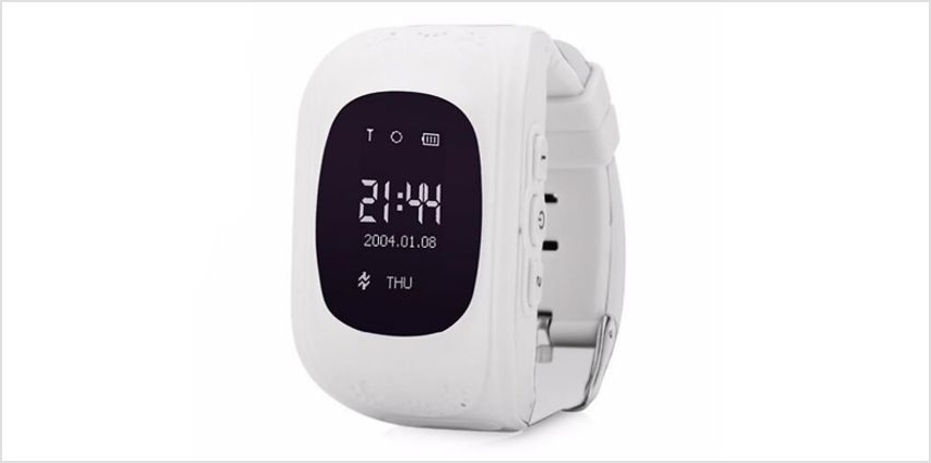 Kids LBS or GPS Tracker Smart Watch with 2 Way Calling & SOS - 6 Colours from GoGroopie