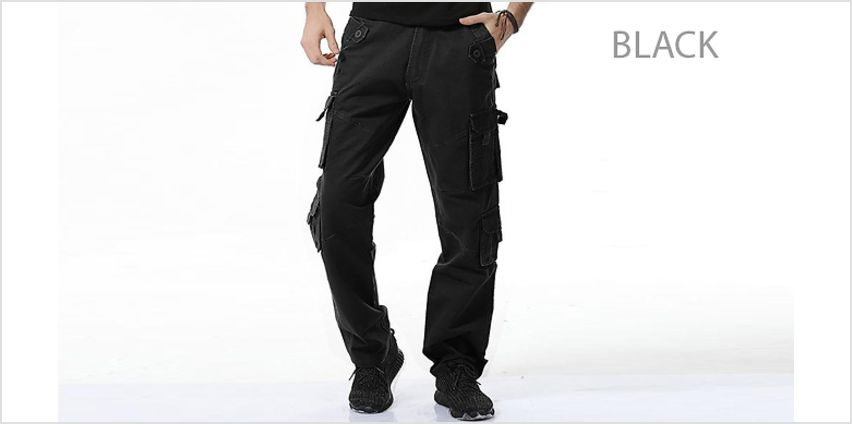 Mens' Hiking Quick-Dry Cargo Trousers - 4 Colours & 12 Sizes - Free Delivery! from GoGroopie