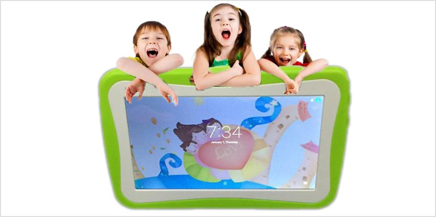 7 Inch Kids SmartPad Android Tablet with Ergonomic Case - 4 Colours from GoGroopie