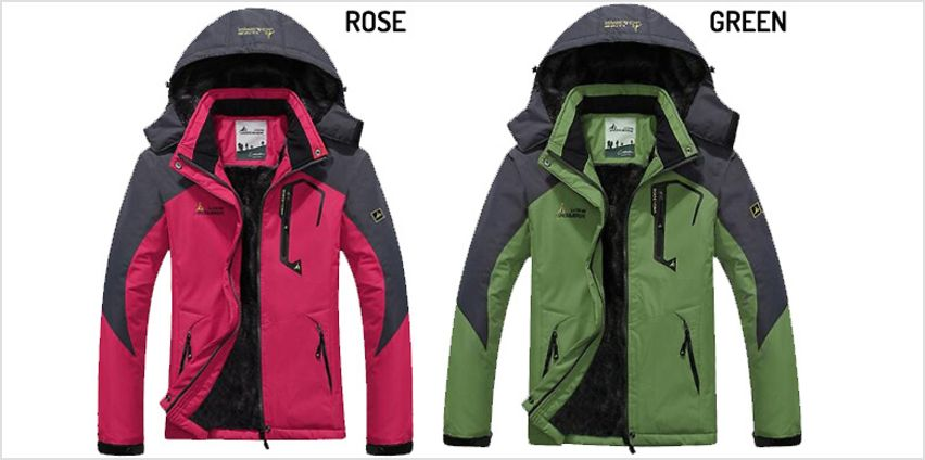 QuickDry Weatherproof Padded Jacket - 4 Colours from GoGroopie