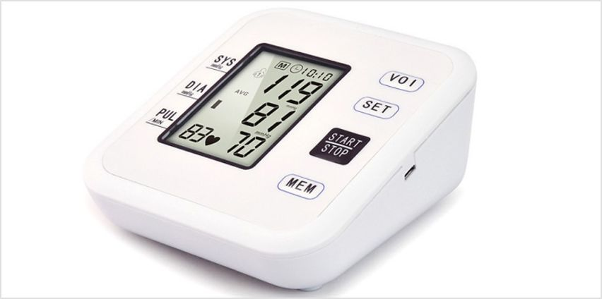 Smart Blood Pressure Monitor with Voice Control from GoGroopie
