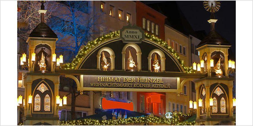 3-4 Night Christmas Market Break With Breakfast, 4* Hotel & Flights from GoGroopie
