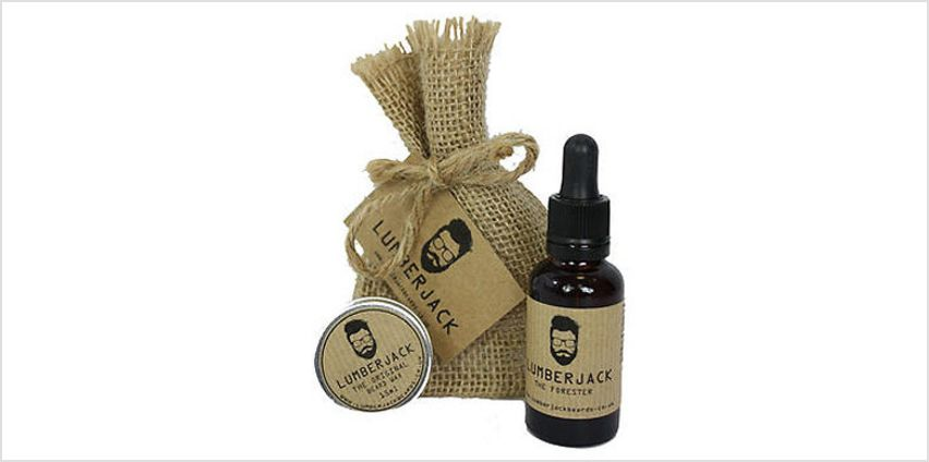 Beard Grooming Gift Set - Oil and Wax from GoGroopie